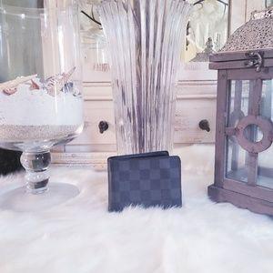 Louis Vuitton Damier Graphite wallet